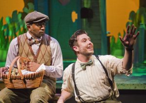 Anthony Rollins-Mullens as Toad and Brett Jones as Frog