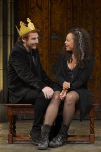 Harry Smith as Harry, Michelle Beck as Jessica.