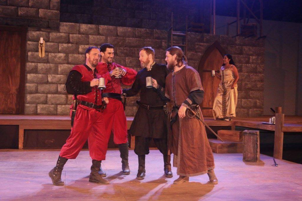Cassidy Brown (Iago), Jeff Wiesen (Cassio), Steve Price (Brabantio), Jackson Currier (Montano), Regina Morones (Bianca)