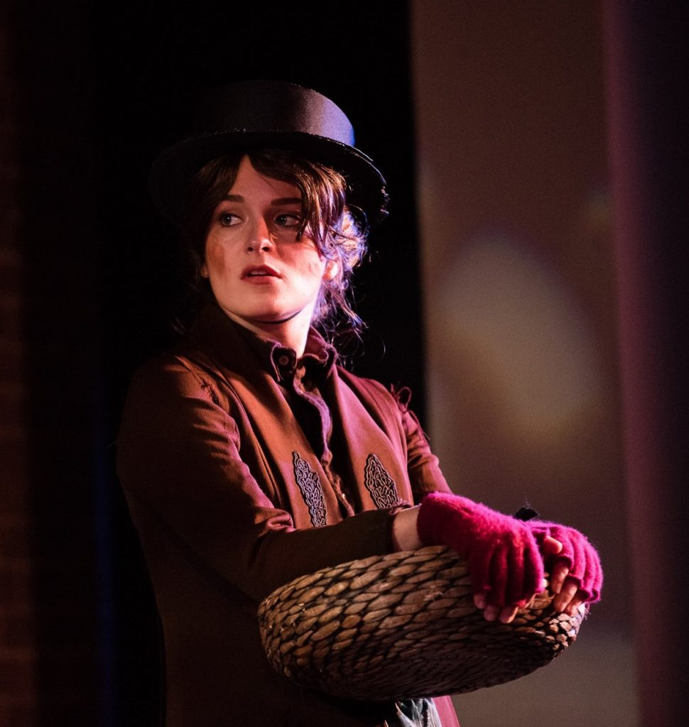 Becky Davis as Eliza Doolittle