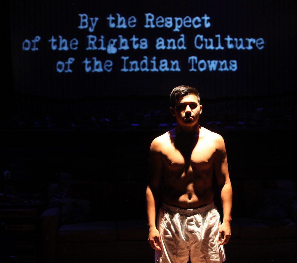 Stephen Narcho as Jose Antonio Elena Rodriguez. Photo by Jennifer Reiley, Magic Theatre.