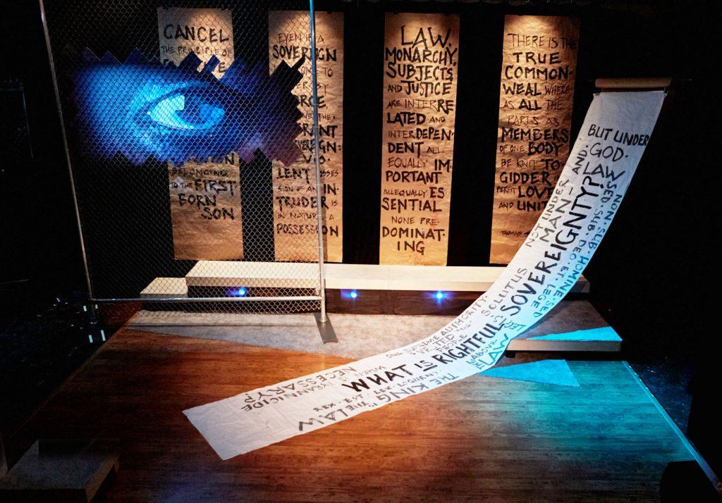 """Set design for Arabian Shakespeare Festival's """"Macbeth"""""""