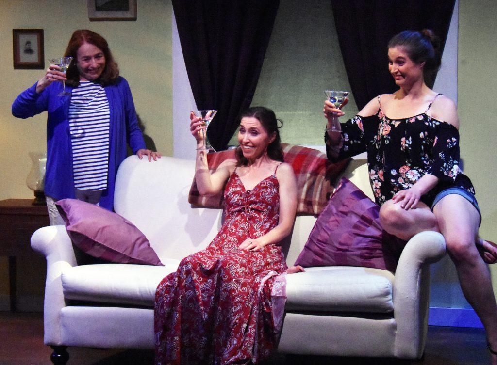 Linda Ayres-Frederick, Teri Whipple, and Amanda Farbstein