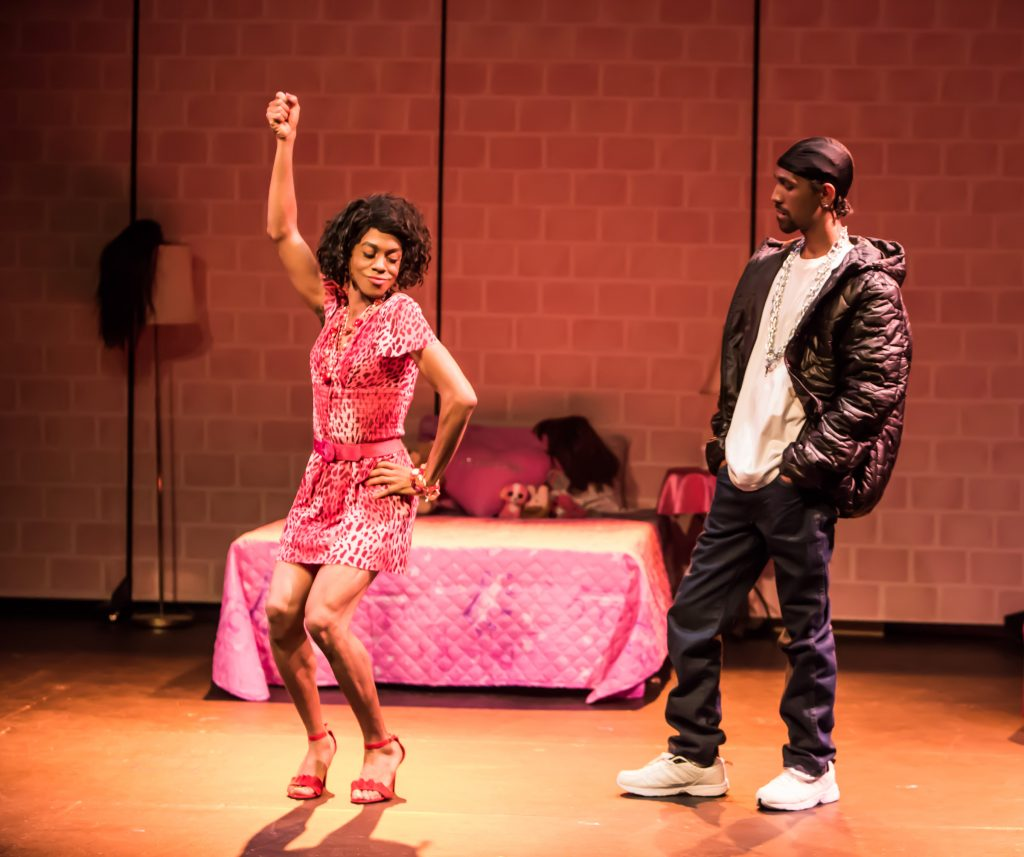 Charles Peoples III as Pink and Maurice André San-Chez as Bradford/DeShawn